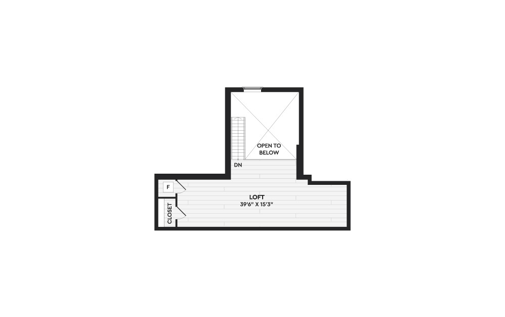 B7A+L - 2 bedroom floorplan layout with 2 baths and 2025 square feet. (Floor 2)