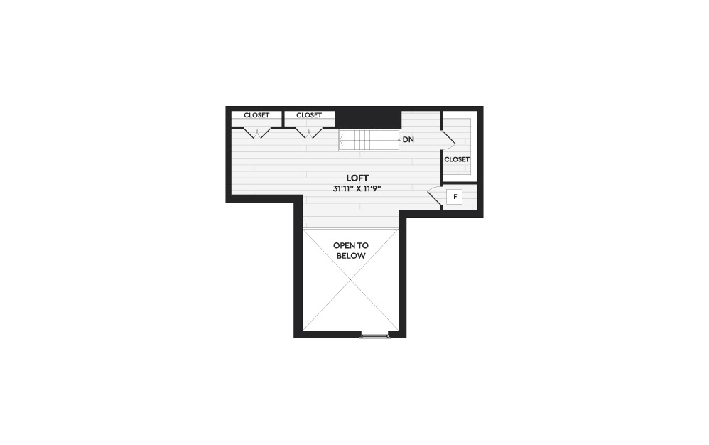 B8+L - 2 bedroom floorplan layout with 2 baths and 1857 square feet. (Floor 2)